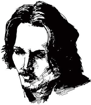 Johnny Depp, Copyright © 2011 Maciek Jozefowicz. All rights reserved.