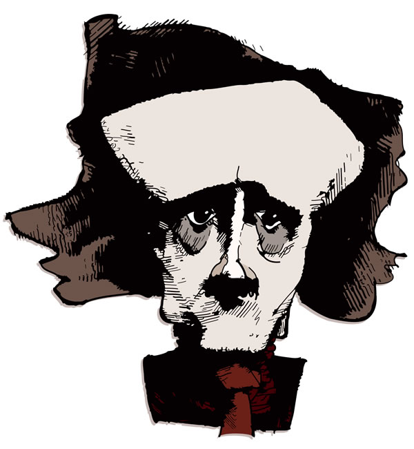 Edgar Allan Poe, Copyright © 2011 Maciek Jozefowicz. All rights reserved