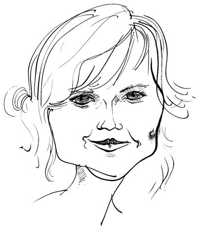 Kirsten Dunst, © 2011 Maciek Jozefowicz. All rights reserved