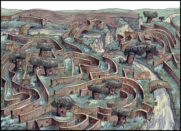 Sketchbook Sample 0203 Labyrinth