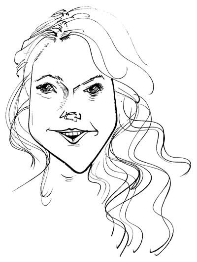 Lindsay Lohan, © 2011 Maciek Jozefowicz. All rights reserved