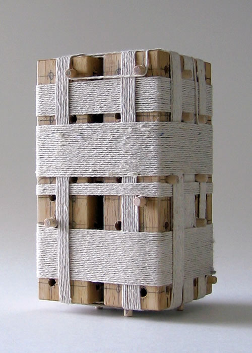 Twin Towers An Unused Architectural Concept Model