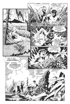 Xenozoic Tales, illustrated and written by Mark Schultz
