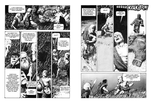 Interior pages from Bloodstar