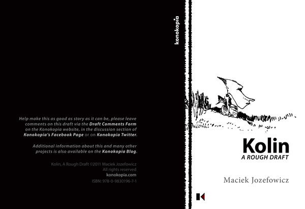 cover of Kolin, A Rough Draft