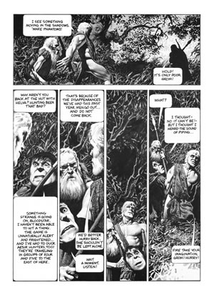 Bloodstar, illustrated by Richard Corben and written by Robert E. Howard