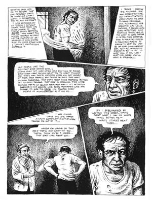 American Splendor, illustrated by Robert Crumb and written by Harvey Pekar