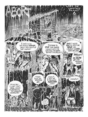 Life on Another Planet, illustrated and written by Will Eisner