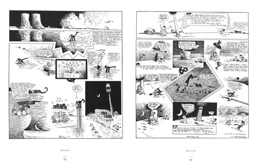 Spread from Krazy and Ignatz