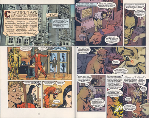 Spread from Fables