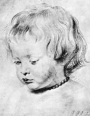 Peter Paul Rubens, PORTRAIT OF A LITTLE BOY