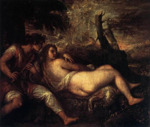 Titian_shepherd-and-nymph