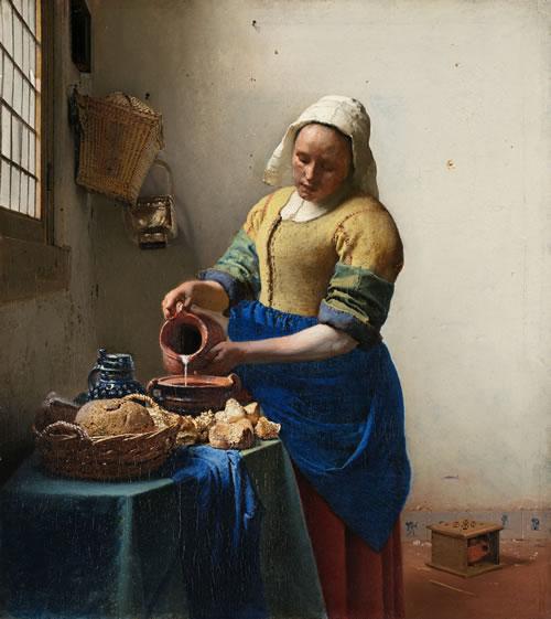 Vermeer_the-milkmaid