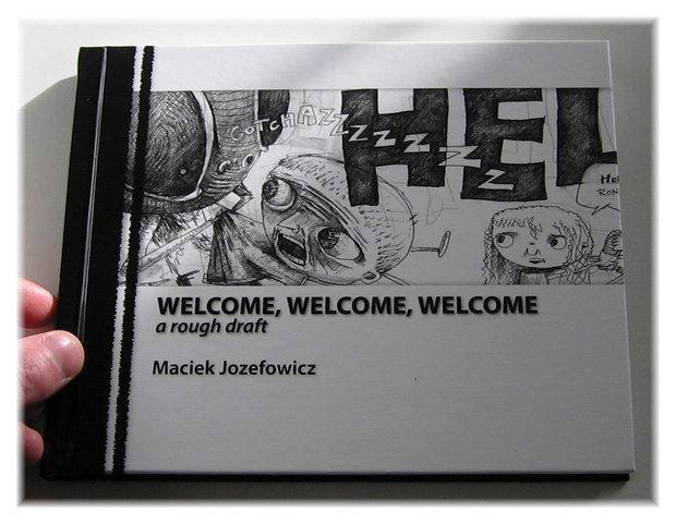 Welcome, front cover