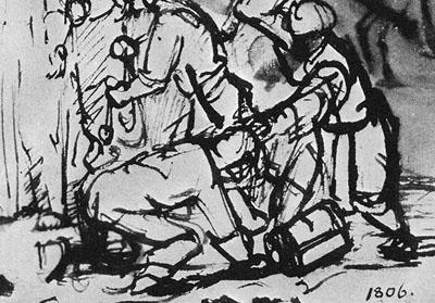 Rembrandt_arrest-of-christ_detail1