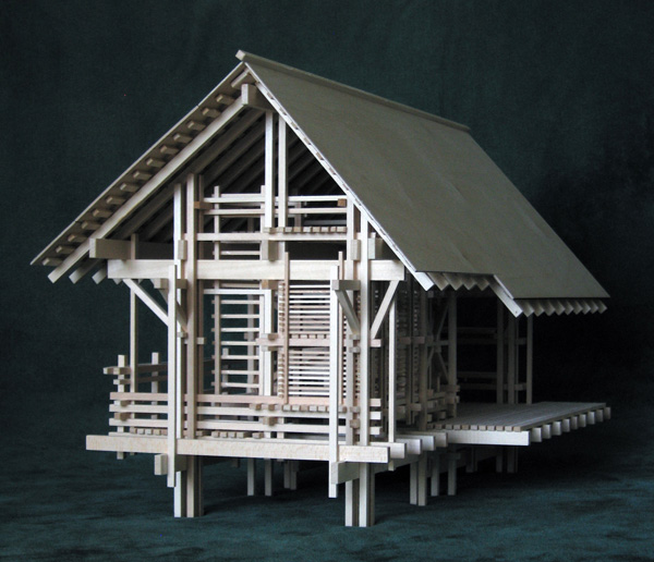 Architectural model: Shelter from the Storm, Version 2