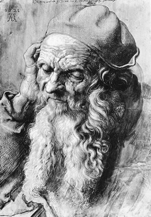 Albrecht Durer, STUDY FOR SAINT JEROME