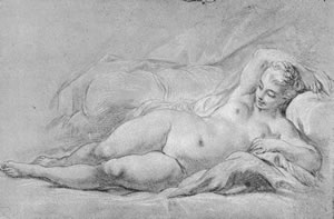 Boucher, FEMALE NUDE