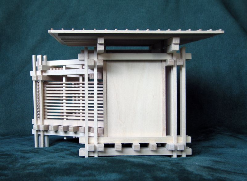 Unique home decoration idea or office decoration idea : architectural model LOVERS
