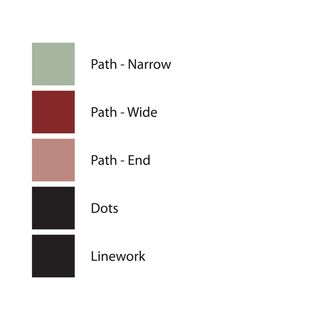 Color palette used in SQUARE 22, Version 2