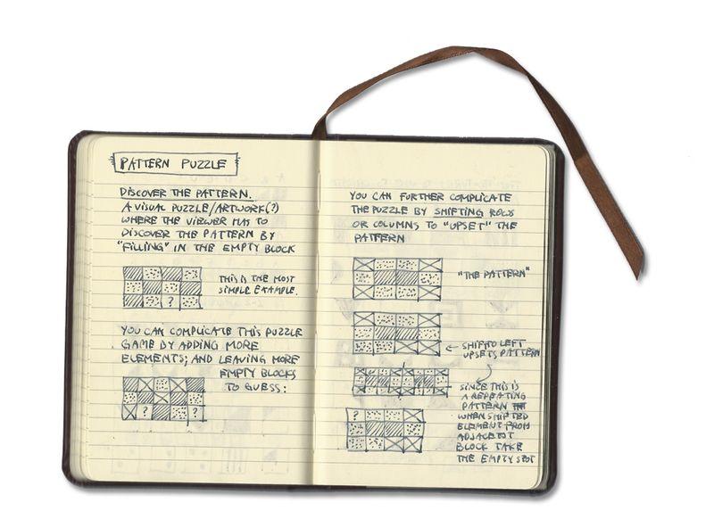 Pattern-puzzle-journal-idea-1