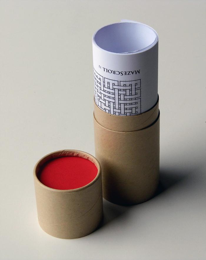 Mazescroll-in-cardboard-tube