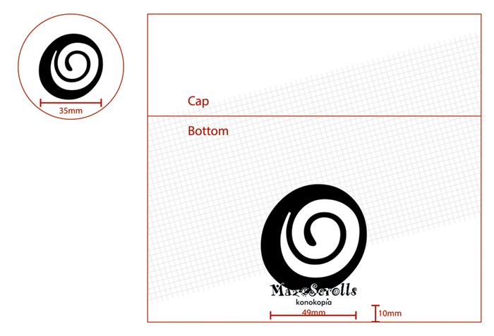 Mazescroll-design