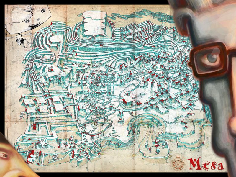 Mesa-treasure-map