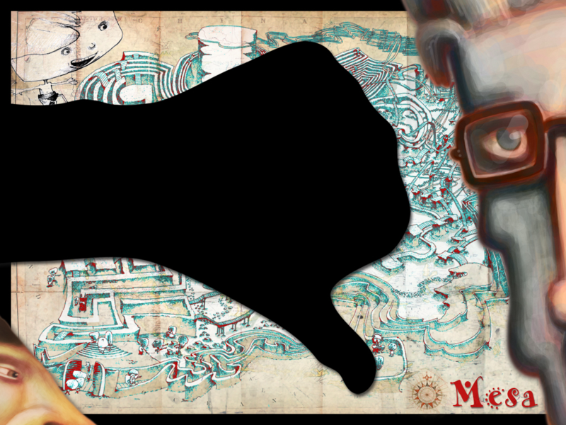 Thumb-down-on-Mesa-treasure-map