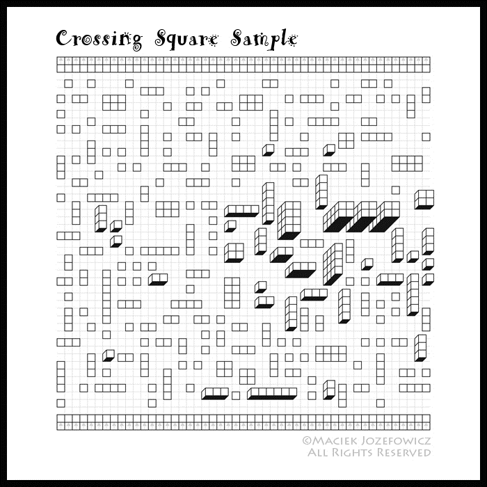 Crossing Square Sample A Bite Sized Maze Puzzle Of Mazescroll 43