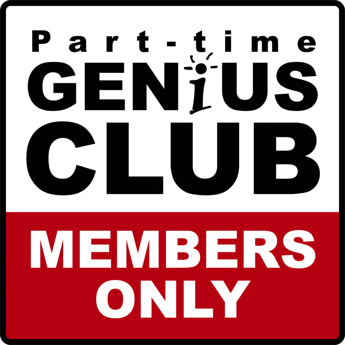 Members-only-the-part-time-genius-club