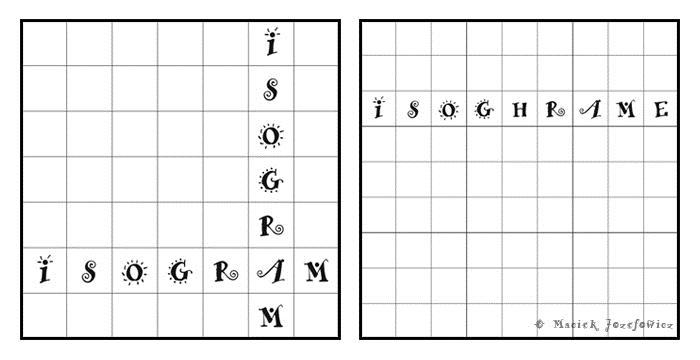 Isogram-sudoku