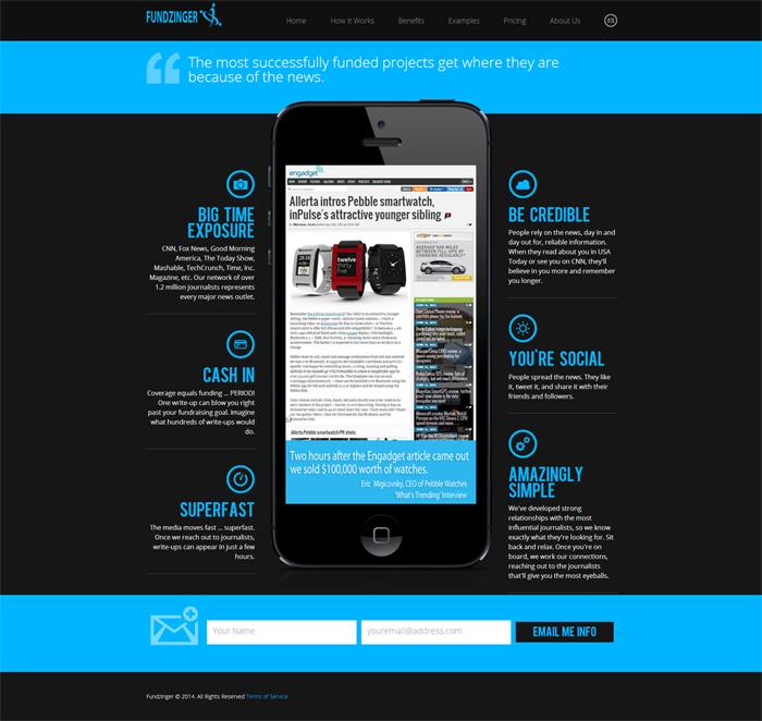 Fundzinger-website
