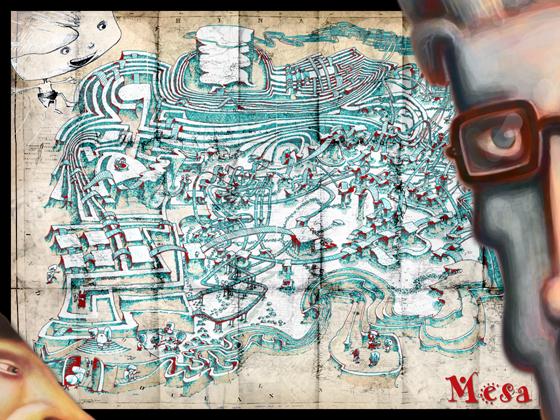 Mesa-treasure-map